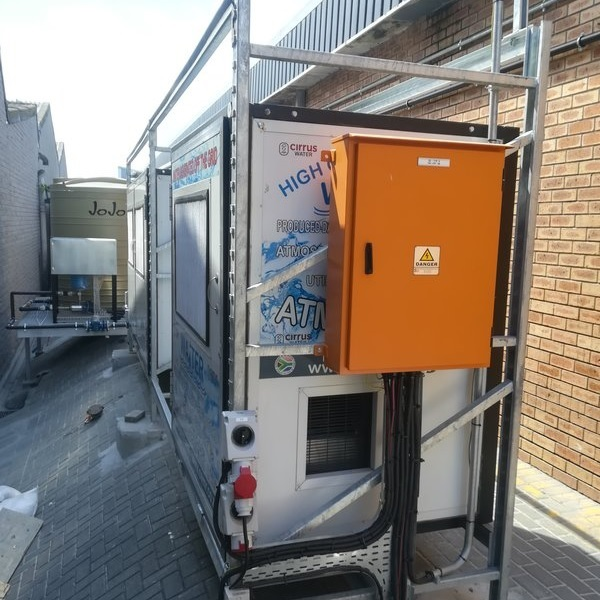 ecent Atmospheric Water Generatos Installations